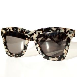 Valley Eyewear DB B&W Tortoiseshell Sunglasses
